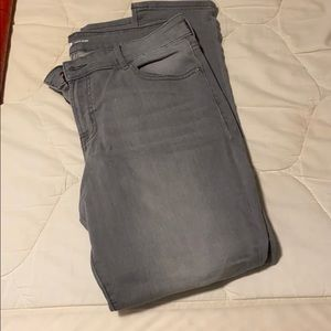 Grey Old Navy Skinny Jeans